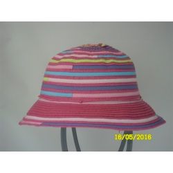 CAPPELLO CLOCHE BIMBA ESTIVO MULTICOLOR