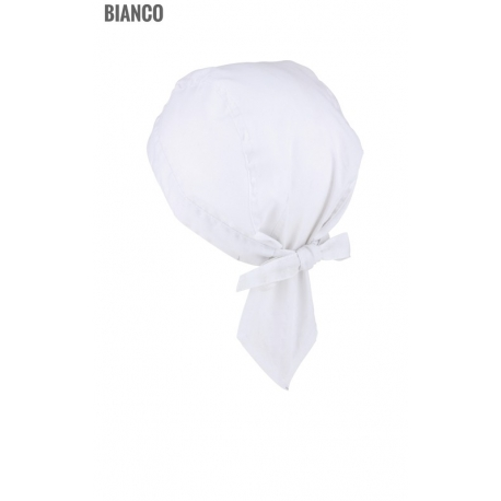 BANDANA PREFORMATA TINTA UNITA 100% COTONE